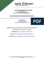 The University and the Public Good (Calhoun)