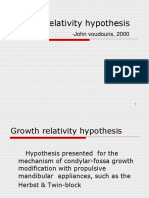 Growth Relativity Hypothesis