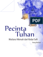 Pecinta Tuhan Mutiara Hikmah Dari Kedai Sufi