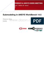 SubmodelinginANSYSWorkBench14&Amp;#46;5