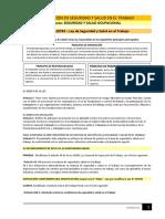 Lectura - Legislación en Seguridad y Salud en Trabajo