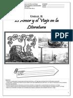 Dossier Amor y Viaje en La Literatura PDF