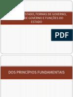 Formas de Estado (Atualizada)