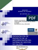 Presentacion Proyecto 9-6-11