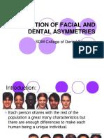 Correction of Facial and Dental Asymmetries