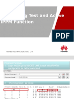 How to Ping Test and Active the IPPM