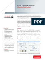 Oracle - DataSheet_VCP R12_Inventory Optimization (056986)