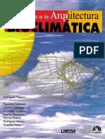 Manuel Rodriquez Viqueira - INTRODUCCION A LA ARQUITECTURA BIOCLIMATICA ⁞▪ AF