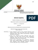 Perda Bantul No 12 Th 2015 Ttg PPLH