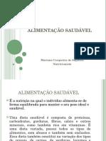 PALESTRA ALIMENTAÇÃO SAUDÁVEL.ppt
