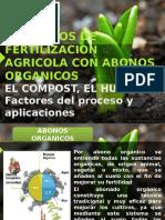 ABONOS ORGANICOS COMPOST Y HUMUS.pptx