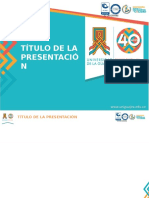 Ci-f-07. Plantilla Para Presentaciones Institucionales universidad de la guajira