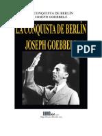 La Conquista de Berlín (Goebbels)