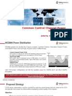 Common Control Channel Power Optimization - Huawei Network (Semarang)