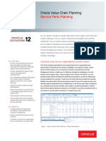 Oracle - DataSheet_VCP R12_Service Parts Planning (056857)