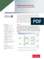 Oracle - DataSheet_VCP R12_Strategic Network Optimization (056991)