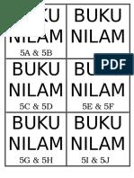 Label Kotak Buku Nilam