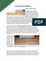 [Luthieria] Construindo Um Violão Em 13 Semanas