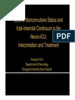 EEG NCSE di ICU