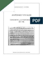 Vivaldi Concerto in D RV 95 La Pastorella
