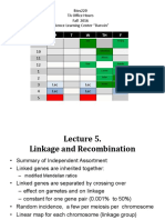 Lecture 5 Fall 2016 Linkage I