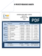 Agenda 90001 Proyecto Pedagogico Unadista