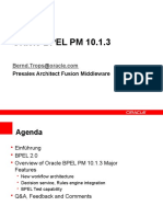 Oracle - BPEL PM 10.1.3 (BPEL10.1.3und20)