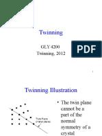 (L17) Twinning F12 Plagioklas