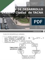 Desarrollo Urbano Tacna