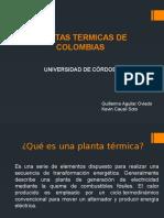 Plantas Térmicas en Colombia
