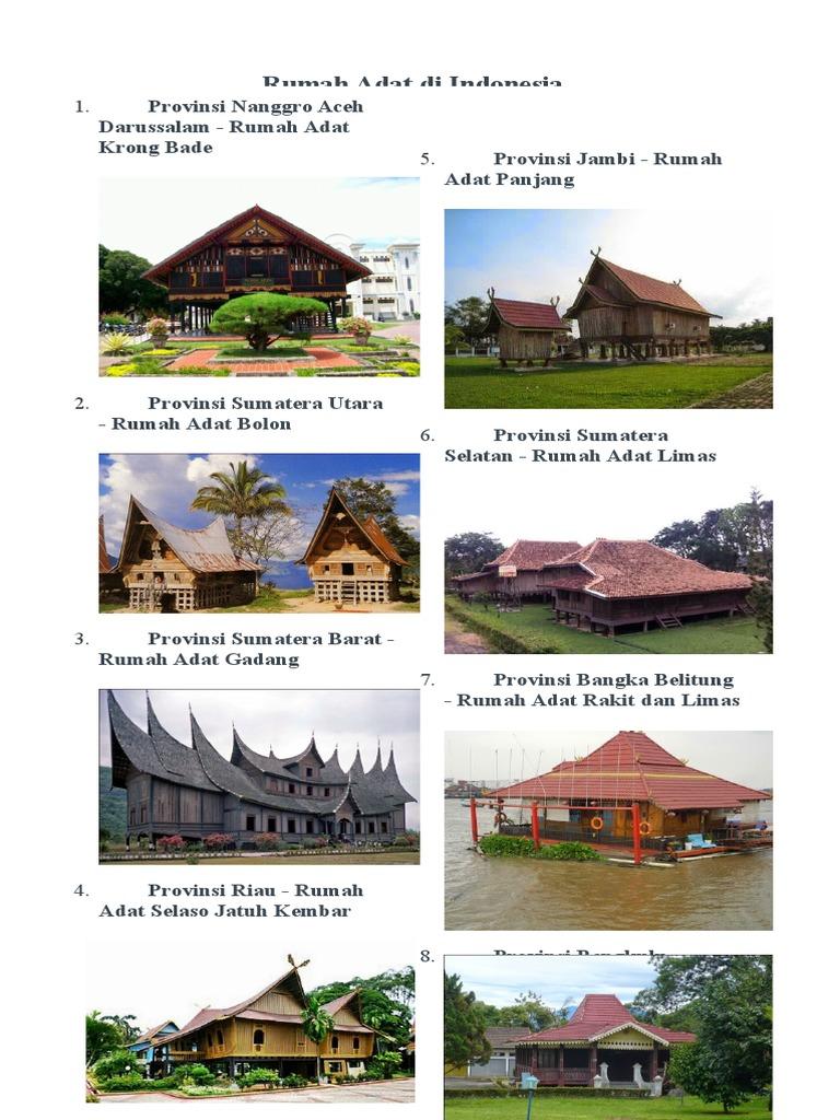 98 Gambar Rumah Adat Provinsi Sumatera Barat HD