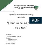 El Futuro de las Bases de Datos.docx