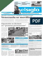 Edición Impresa El Siglo 02-09-2016