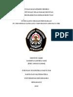 (723760870) Analisis Obligasi Indosat