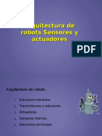 Arquitectura Robots Sensores y Actuadores