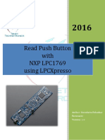 Interfacing Push Button and Buzzer with LPC1769