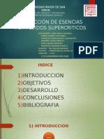 Extraccion de Esencias Por Fluidos Supercriticos - Jerson Gonzales