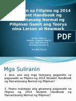 Pagsasalin Research Forum