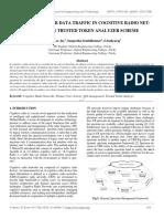 A Framework for Data Traffic in Cognitive Radio Net-works Using Trusted Token Analyzer Scheme