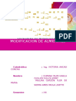Modificacion de Almidones