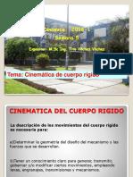 2016-1 Uni Cinematica de Cuerpo Rigido en El Plano