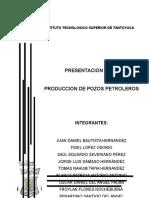 Produccion de Pozos Petoleros