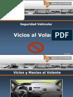 Seguridad Vehicular Vicios Al Volante 01
