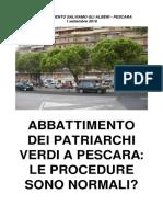 PESCARA Dossier Alberi 01-09-2016