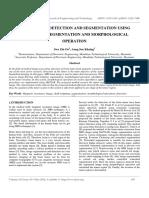Brain Tumor Detection and Segmentation Using Watershed Segmentation and Morphological Operation