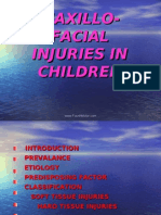 Maxillofacial Injuries in Children Pedo