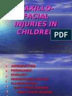 Maxillofacial Injuries in Children Pedo