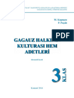 Учебное пособие по культуре и традициям гагаузского народа