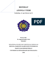 Referat Atonia Uteri