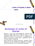 Mechanism Action of Fluorides II Pedo